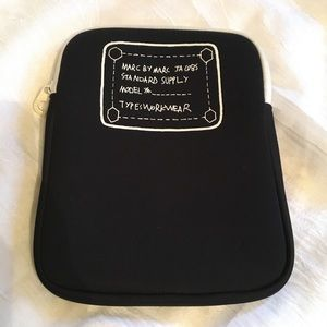Marc by Marc Jacobs Black Soft Tablet Case